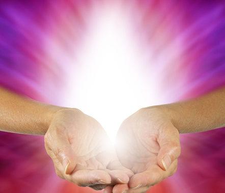 29023672 - Purple Magenta Healing Energy